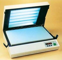A4 UV Exposure Unit with Gas Struts